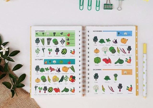 calendario de siembras para frutas y verduras