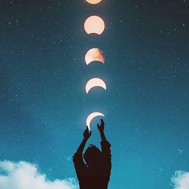 tipos de fase de la luna 2019