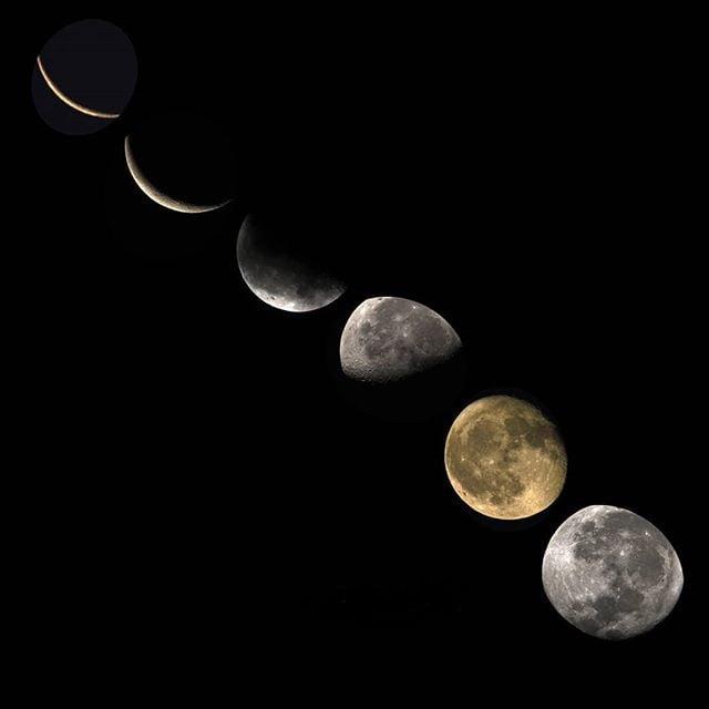 ▷ Calendario lunar diciembre 2019 | Eventogenda