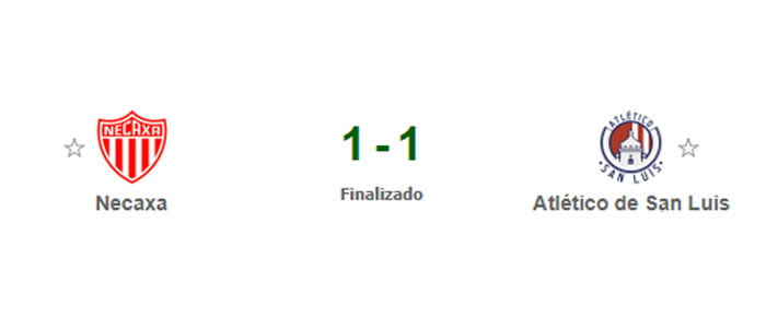 Necaxa vs Atlético San Luis
