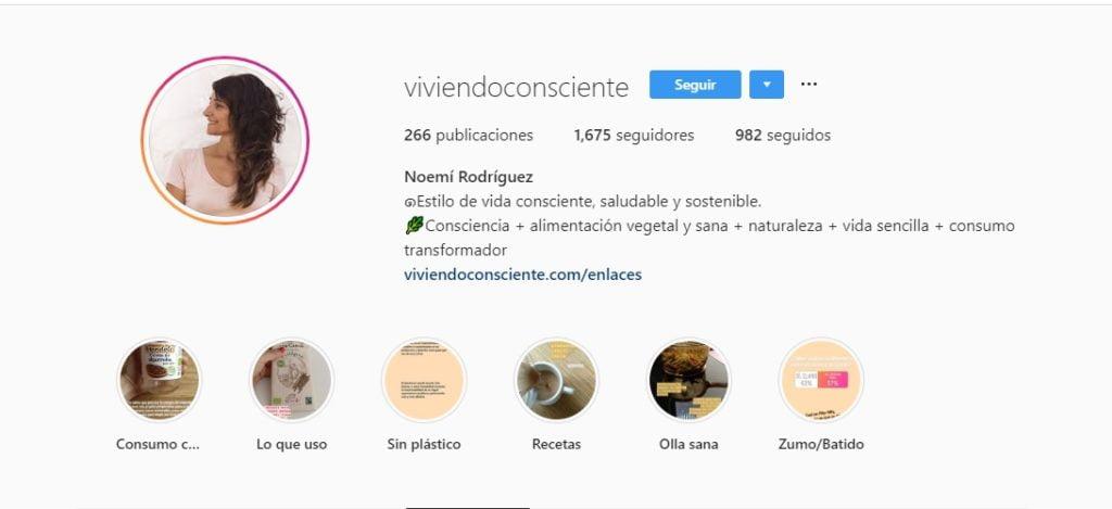 éxito en Instagram