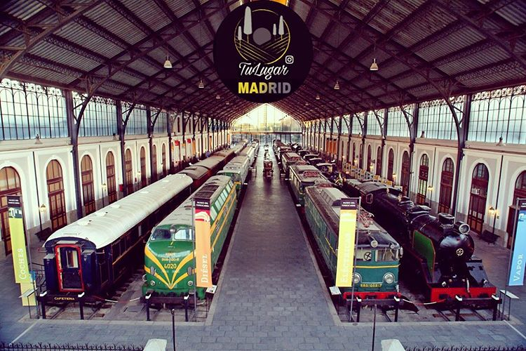Museo del Ferrocarril, Delicias