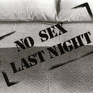 no sex last
