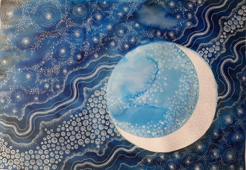Calendario Lunar abril 2020