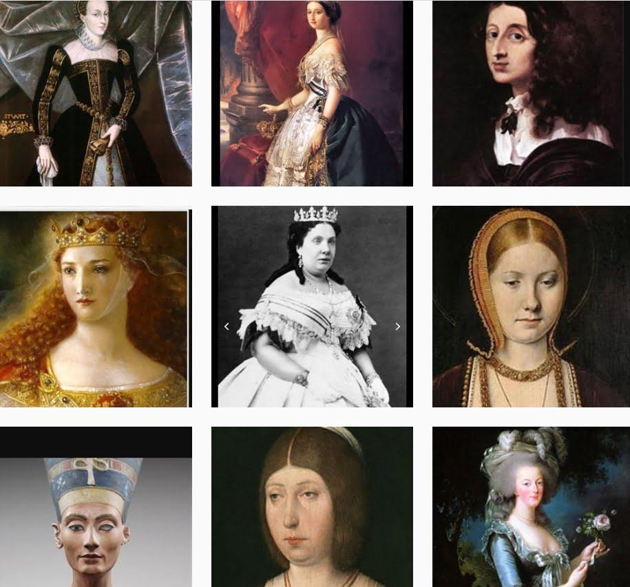 Reinas o mujeres que han gobernado en la historia