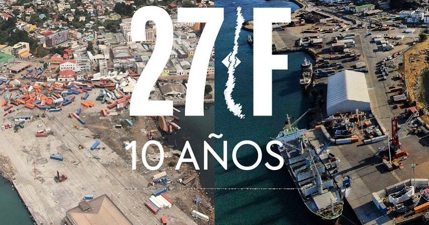 Terremoto de Chile en  Cobquecura Ñuble