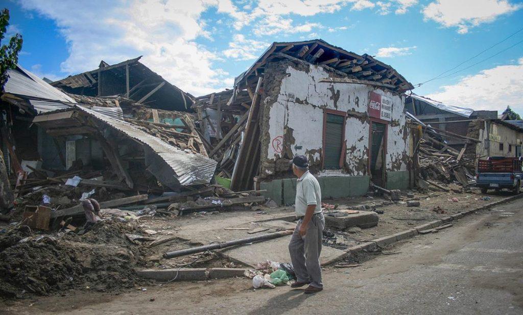 China, terremoto en  Shaanxi