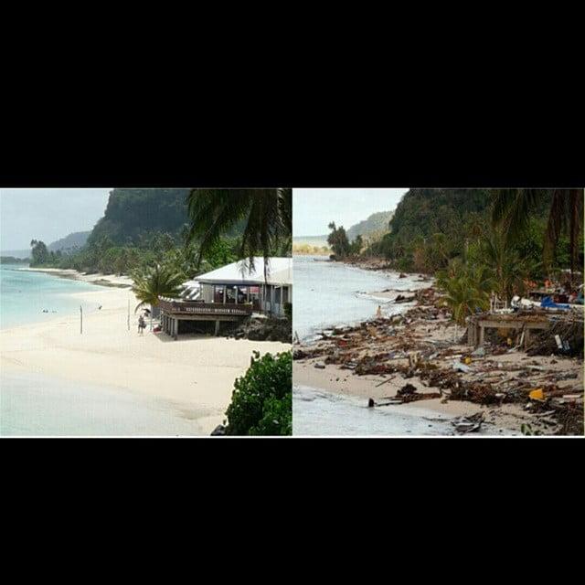Tsunami Samoa 2009